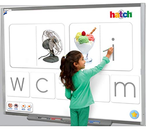 Interactive whiteboard (with Epson475w_White Wall Mount)