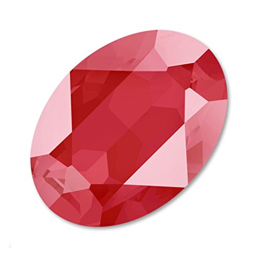 Swarovski Cabuchón 4120 Ovalado 18x13 mm Crystal Royal Red x1