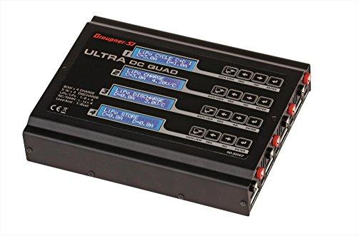 Graupner S2007 Ladegerät Ultra DC Quad, Vier-Port-Balancer