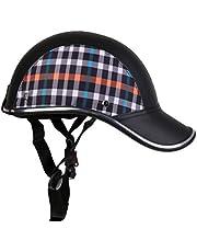 Homyl Motorhelm zomer Baseball Cap Beschermende helmen Tropenhelm Fietshelm voor dames heren