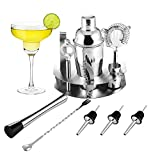 OCDAY Kit Barman Set da 12 Pezzi, Cocktail Manhattan in Acciaio Inox,Professionale Martini...