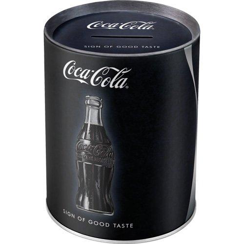 Nostalgic-Art - Coca-Cola - Sign Of Good Taste - Spardose, Geschenk-Idee für Coca-Cola Fans, als Sparschwein aus Metall, Vintage Sparbüchse aus Blech