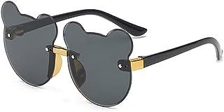 YHD - YHD Gafas De Sol, Uv400 para NiñOs Y NiñAs De 5 A 12 AñOs 100% De ProteccióN contra Los Rayos UVA Y Uvb Seguras CóModas Y Muy Duraderas Opciones Multicolor