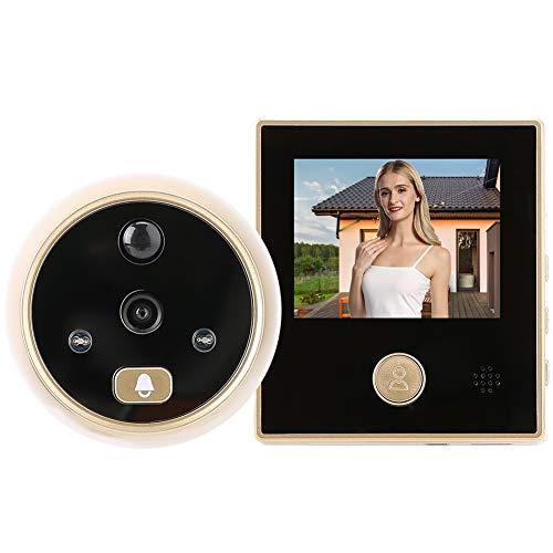 Videoportero, teléfono, intercomunicador, timbre, pantalla HD de 2.8', hogar, video inteligente, timbre, cámara, seguridad, visor de puerta, detección de movimiento