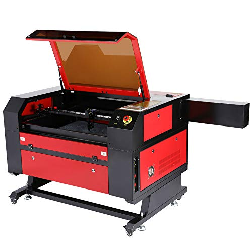 Co2 Laser Engraver 100 Watt 20 x 28 Inch Orion Motor Tech Laser Cutting Machine, Laser Engraving Machine with Digital LCD Real Time Data and Power, USB Port, Auto Shutdown, Built-in Air Compressor