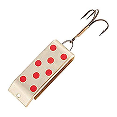 Jake'S Lures Spin Fishing Equipment, 1/4 oz, Gold with Red