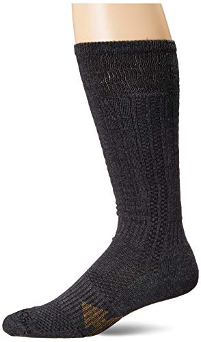 Carhartt Men's Force Extremes Over The Calf Work Boot Sock, charcoal, Shoe Size: 6-12