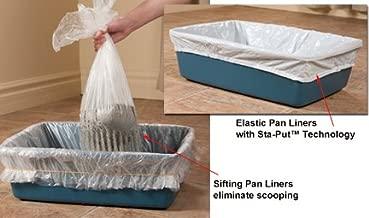 Alfa Pet Kitty Cat Elastic Litter Box Liners 10 ct.