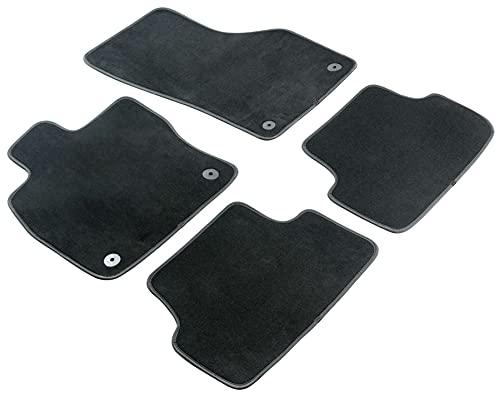 Walser Nadelfilz Velours Premium Fußmatten kompatibel mit Opel Mokka/Mokka X 06/2012-Heute