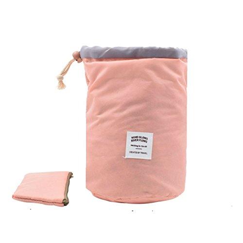 TKSTAR Trousse de maquillage Voyage Travel Sac Cosmétique Toiletry Cosmetic Storage Beauty Carry Case Makeup Organizer Bag Sac de Voyage organisateur maquillageKit de Voyage (Rose)