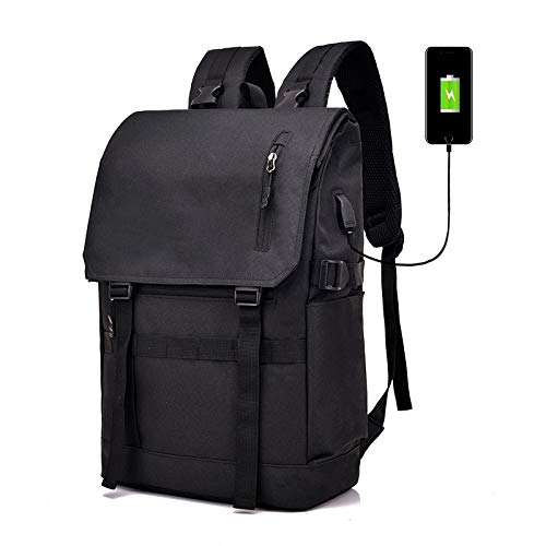 XMYNB Zaino Da Viaggio Pieghevole Estensibile Per Zaino Di Grande Capacità Di Moda Zaino Da Viaggio Per Esterni Bluetooth Antifurto Nero 29 * 17 * 47Cm