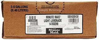 Minute Maid Lite Lemonade 2.5 Gallon Bag in Box Soda Syrup