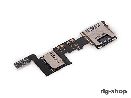 Original Samsung Galaxy Note 4 SM-N910F Micro SD Sim Karten Karte Card Halter Leser Slot Flex Kabel Speicherkarten leser