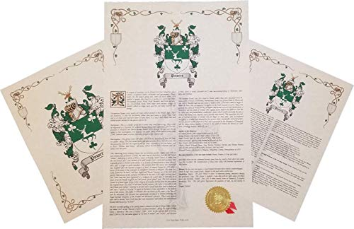 Mr Sweets Newtone - Coat of Arms, Crest & History 3 Print Combo - Surname Origin: English England