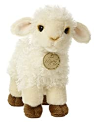 Baby Lamb Stuffed Animal