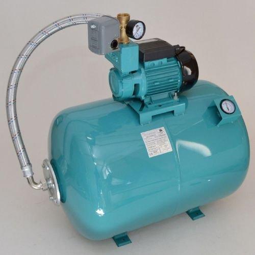 100L mit Luftdruckmano Hauswasserwerk Pumpe 750 W Hauswasserautomat Gartenpumpe