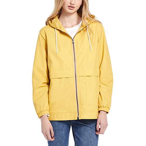 Weatherproof Vintage Womens Rain Slicker Jacket (Ochre, X-Large)