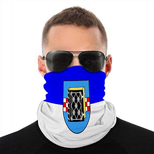 Xunulyn Multifunktionale Kopfbedeckung Kopfbedeckung Stirnband Sturmhaube Deckflagge von Bochum in Nordrhein Westfalen Deutschland Deckschild