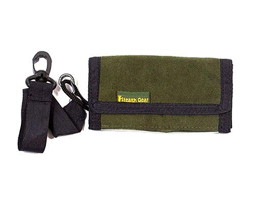 Stealth Gear - Custodia compatta per schede di memoria, colore: Verde