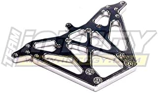 Integy RC Model Hop-ups T6770SILVER Alloy Rear Shock Tower for Nitro Rustler