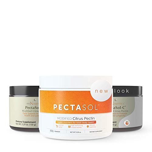 ecoNugenics - PectaSol-C Modified Citrus Pectin - 150 Grams | Professionally Formulated to Help Maintain Healthy Galectin-3 Levels | Supports Cellular & Immune System Health | Safe & Natural