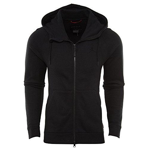 Nike Herren Jsw Wings Fleece Fz Jacke XS Black (Schwarz / Schwarz)