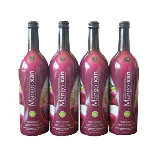 Mangoxan Optimized NON-GMO Mangosteen Juice Blend Xanthone Rich 4-25.35 fl. oz. bottles ( 4 Pack) Mangosteen Supplement, Anti-inflammatory and Antioxidant Properties