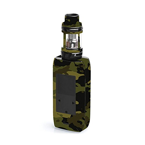 MightySkins Skin Compatible with Vaporesso Revenger X - Green Camouflage | Protective, Durable, and Unique Vinyl Decal wrap Cover | Easy to Apply, Remove, and Change Styles | Made in The USA