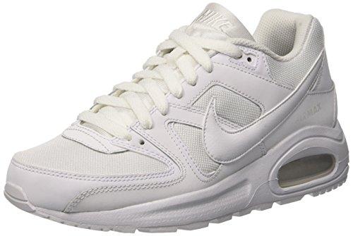 Nike Air MAX Command Flex (GS), Zapatillas Unisex Niños, Blanco (White/White-White 101), 36 EU