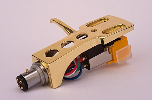 Spiegel Vergoldet beschichtet Schale, Halter mit AT Tonabnehmer, Nadel für AKAI AP-006, ATT05U, AP-306/C, ATT022U, AP-007, AP-Q50, AP-D30. AP-307, AP-005, ATT10U, AP-103/C, AP-Q80, AP-Q55