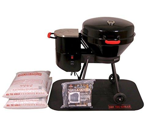 REC TEC Grills Bullseye | RT-B380 | Bundle | Wood Pellet Grill | 15lb Hopper | 1 Year Warranty | Hotflash Ceramic Ignition System