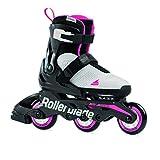 Rollerblade Patines en línea Microblade Free 3WD G para niña, Gris y Rosa, 230