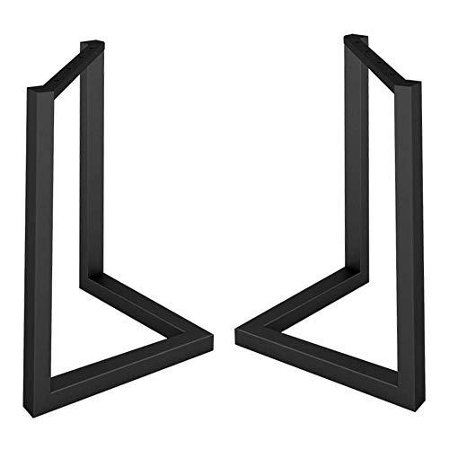 ZXL Hoogte 26,8 in V vorm Tafelpoten, Verstelbare Metalen Eettafelpoten, Bar, salontafel, Kantoormeubelpoten, Moderne stijl, set van 2