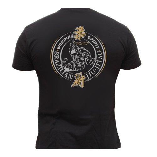 MMA Brazilian Jiu-Jitsu Herren Men's T-Shirt K33C (XXL)