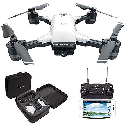 le-idea GPS Drones con Camara 2K Profesional, 5G WiFi FPV Quadcopter con Cámara HD con Modo sígueme, 120º Gran Angular, RTF Altitude Hold, Modo Sin Cabeza y Retorno a Casa【Actualizar IDEA10】
