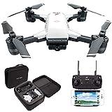 le-idea GPS Drone con Telecamera 1080P HD grandangolare Video in Diretta, 5GHz WiFi FPV Trasmissione...