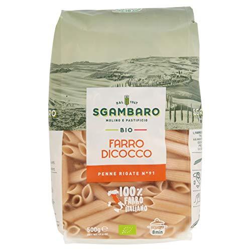 Pasta Sgambaro - Penne Rigate - Farro Dicocco Bio - 500 gr