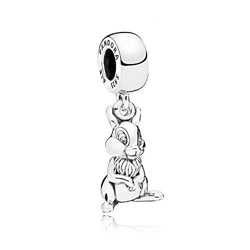 Pandora Charm en Plata de Ley Tambor 796342
