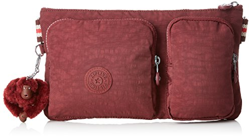 Kipling PRESTO UP Riñonera interior, 28 cm, 1 litros, Marrón (Burnt Carmine M)