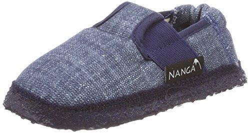 Nanga Kinder - Unisex Hausschuh Jeany blau 30