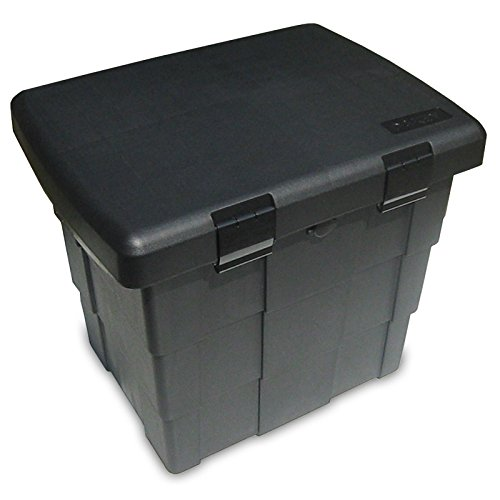 108l abschließb. Streugutbehälter Streukiste f. Ölbindemittel Salz Sand Katzenstreu etc. Staubox Lagerbox
