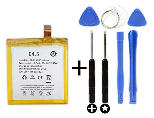 Bateria BQ Aquaris E4.5 + Kit Herramientas/Tools | 2150mAh | GB/T18287-2013