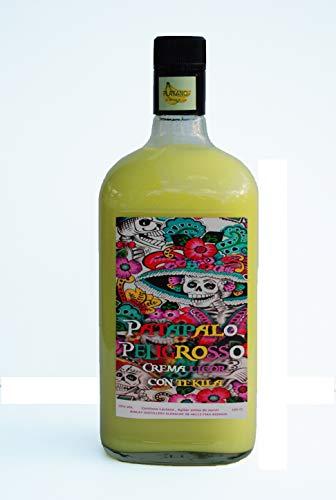 Patapalo Peligroso Cremas con Tequila Platano SIN LACTOSA - Botella 1L