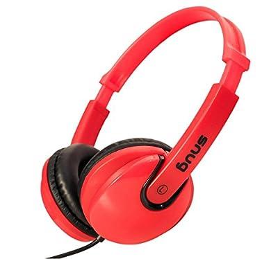 Snug Plug n Play Kids Headphones for Children (Red) from Snug