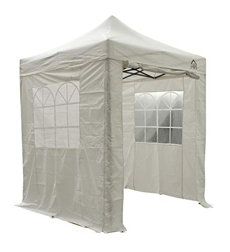 All Seasons Gazebos Heavy Duty, 100% waterproof, 2x2m Pop up Gazebo with 4 x fully waterproof superior Side Walls. 17 Colours ava