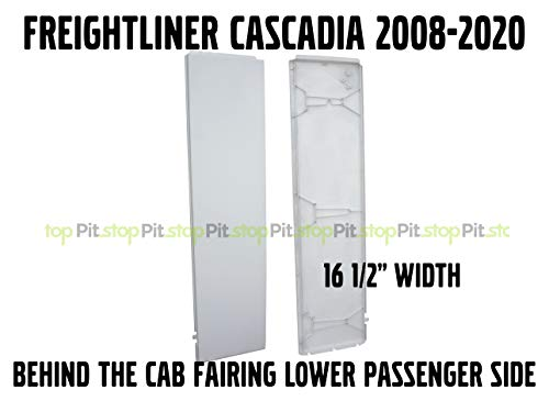 Freightliner Cascadia Semi Truck Behind Cab Cabin Fairing Extension Lower Right