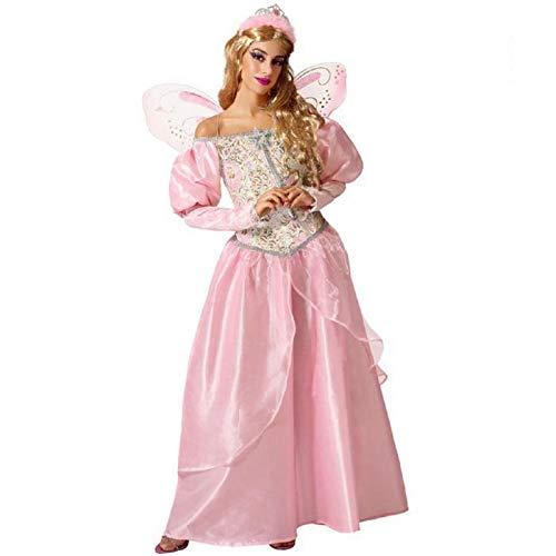 ATOSA disfraz hada madrina adulto rosa XL
