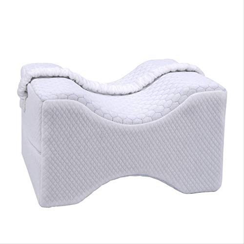 Big Ant Knee Pillow With Elastic Strap, Memory Foam Leg Pillow Best For Side Sleepers/lower Leg/back/hip/knee