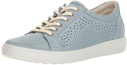 ECCO Women's Soft 7 Tie Sneaker, Arona Trend Perforated, 41 Medium EU (10-10.5 US)