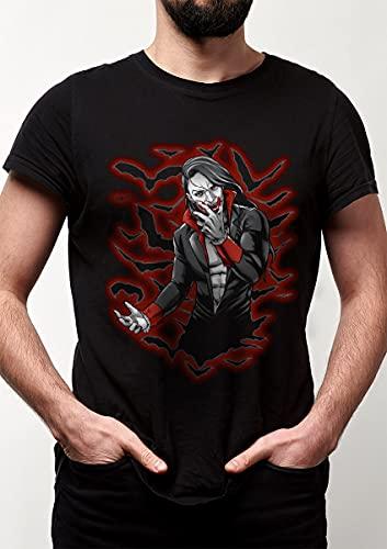 Camiseta Dracula - Vampiro Dragon Store